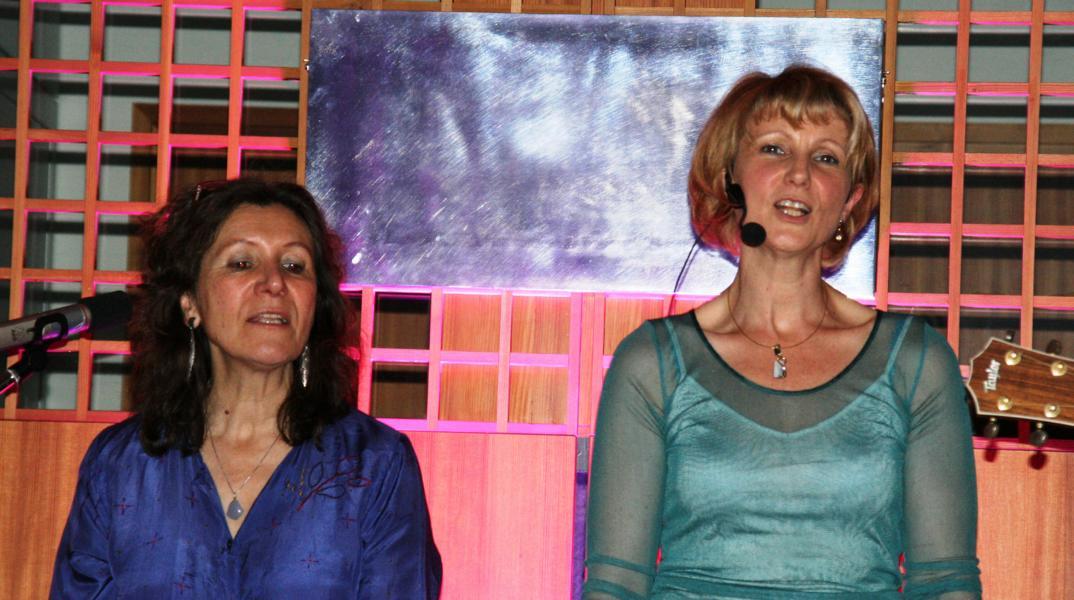K800_9 Georgina Demmer und Susanne Goebel