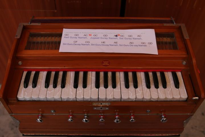K640_12 Harmonium