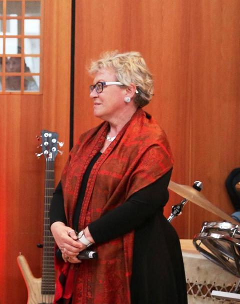 6. Liedernacht 2016 Regensburg_Gastgeberin_Frau Dr. Mayer - Schärtel
